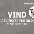 Vind gevinster for 50.000 kr. fra Aubo Køkken og Bad