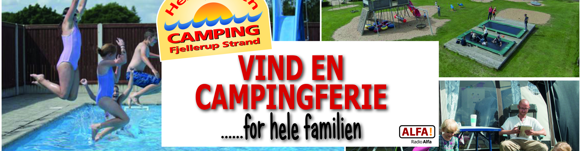Vind en campingferie på Hestehaven Camping