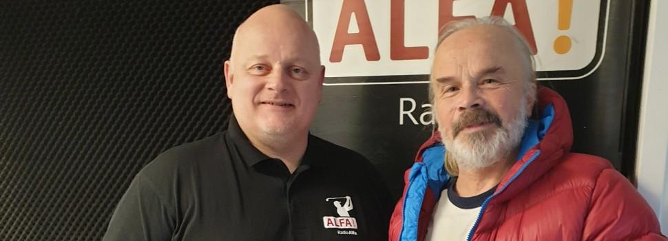 Jørgen Klubien besøgte Radio ALFA med nyt album