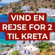 Vind en rejse til Kreta med Århus Charter