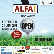 Skousen Randers og JEBA Ejendomme præsenterer Radio ALFA Open.